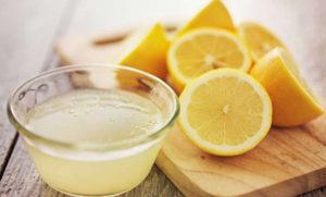 Lemon and lemon juice