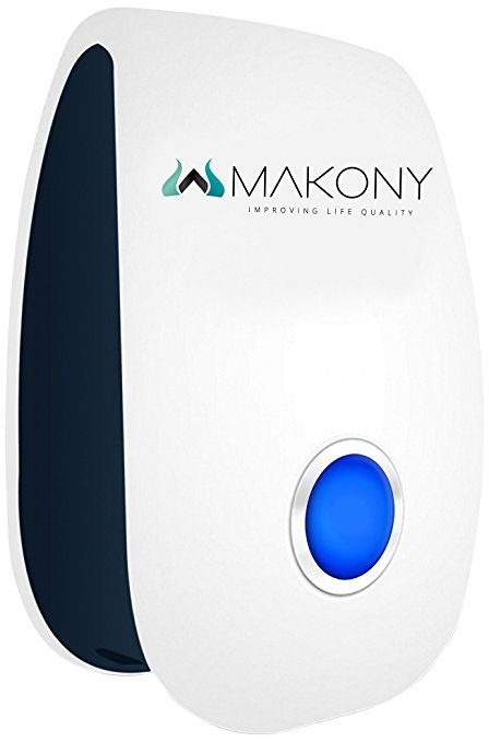 Makony 3 pack Pests Control Ultrasonic Repellent