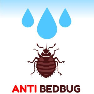 A sign of anti bedbug.