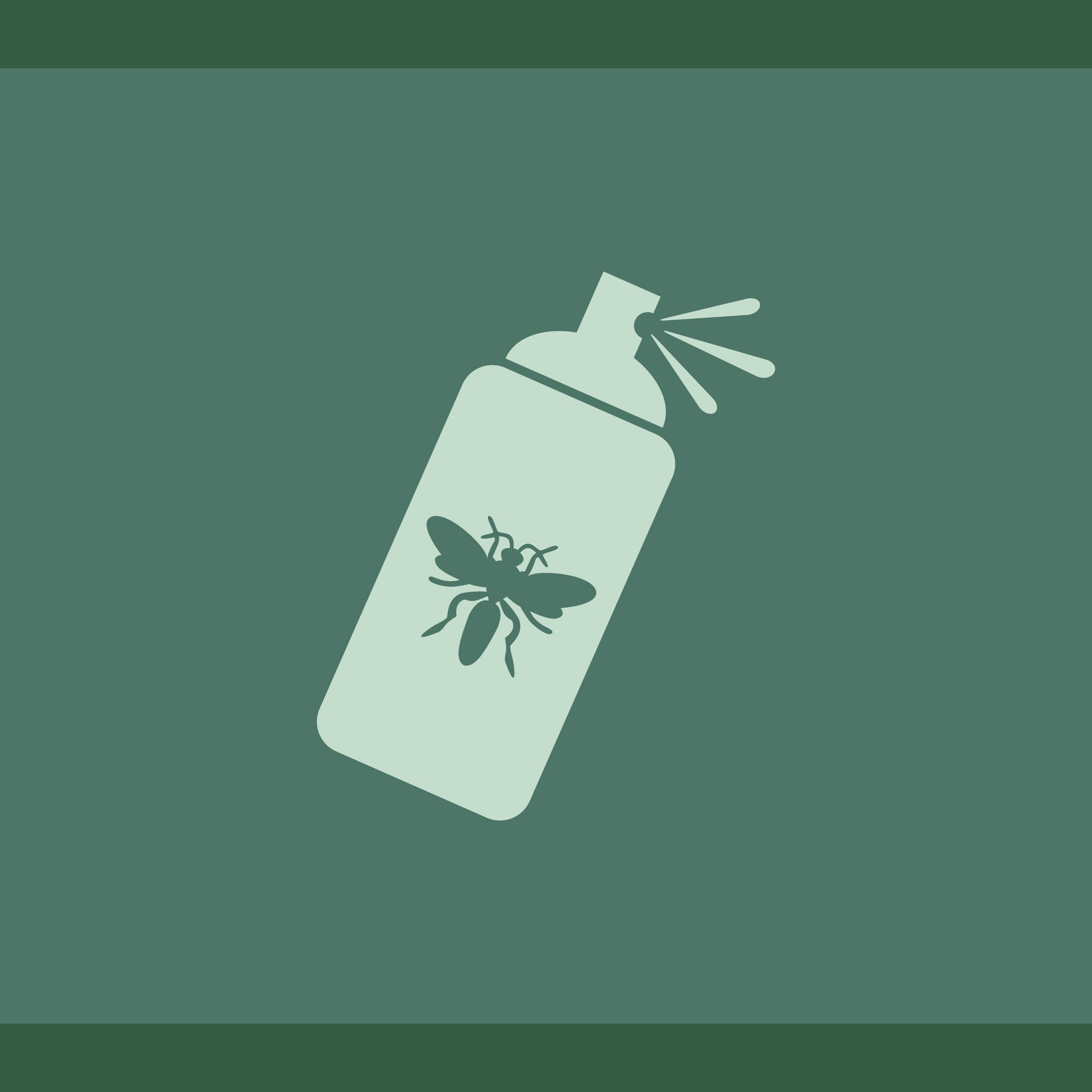 This is a spray insecticide icon.