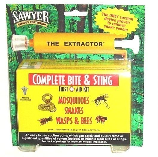 2 Sawyer Extractor Complete Bite & Sting