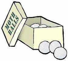 Box of mothballs