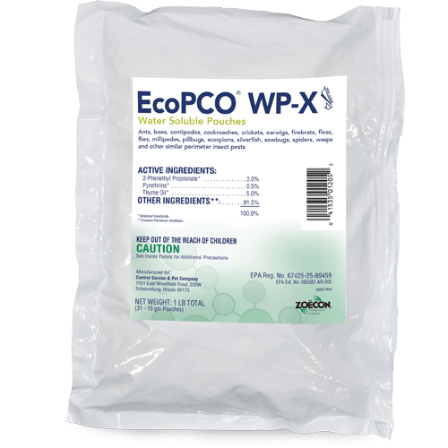 EcoPCO WP-X Water Soluble Pouches
