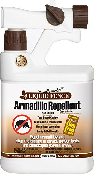 Liquid Fence Ready-to-Use Armadillo Repellent on the white.