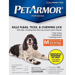 PetArmor Squeeze on Dog Flea and Tick Repellent