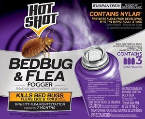 Hot Shot Flea and Bed Bug Fogger