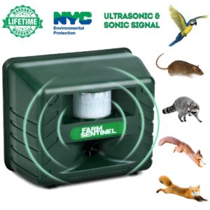 ZZC Ultrasonic Animal Repellent