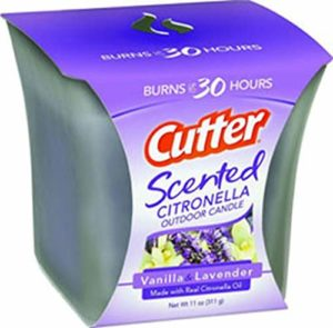 Cutter Scented Citronella Candle