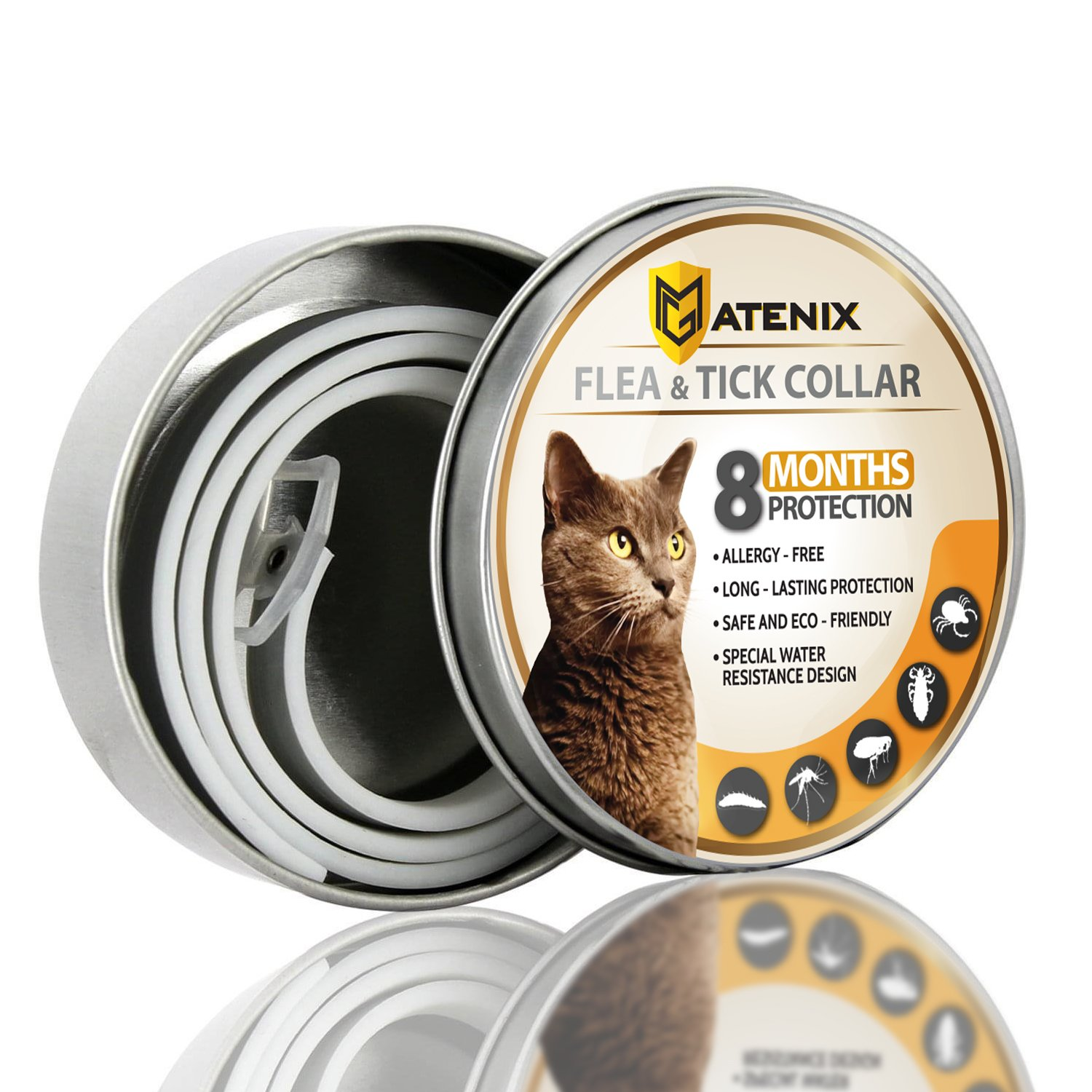 ONMOG Flea and Tick Prevention Collar for Cat