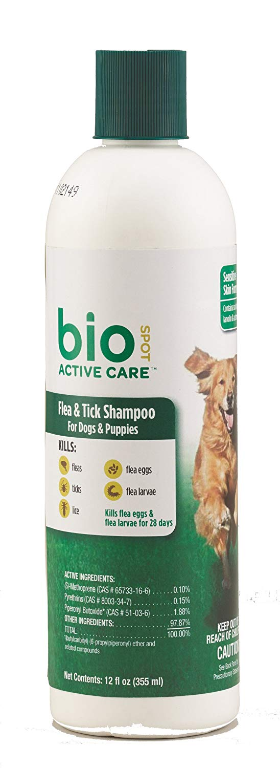 Bio Spot Active Care Flea & Tick Shampoo