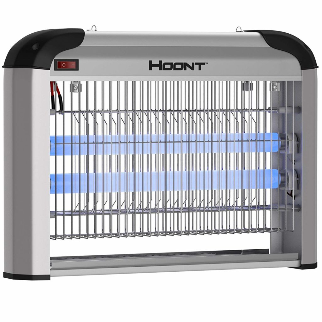 Hoont lectric Indoor Zapper Trap Catcher - Protects 6,000 Sq. Ft/Fly and Bug, Mosquito Insect Killer [Upgraded]- Best Fly Traps