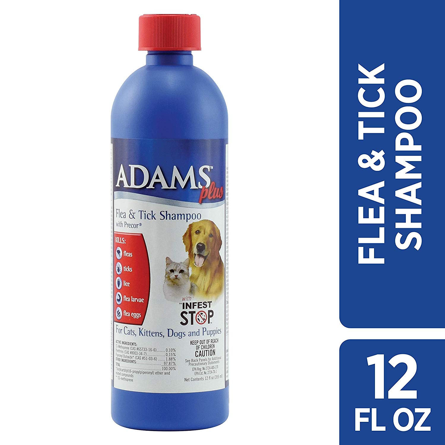 Adams Plus Flea & Tick Shampoo