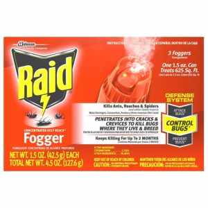 Best Flea Bomb - Raid Concentrated Deep Reach Fogger