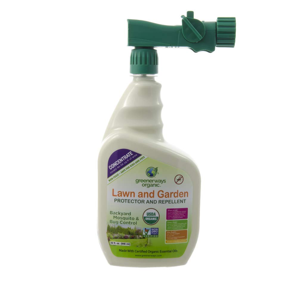 GREENERWAYS ORGANIC Insecticide, Backyard Insect Repellent