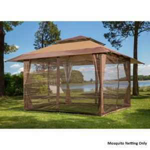 Sunjoy Mosquito Netting Panels for Gazebos