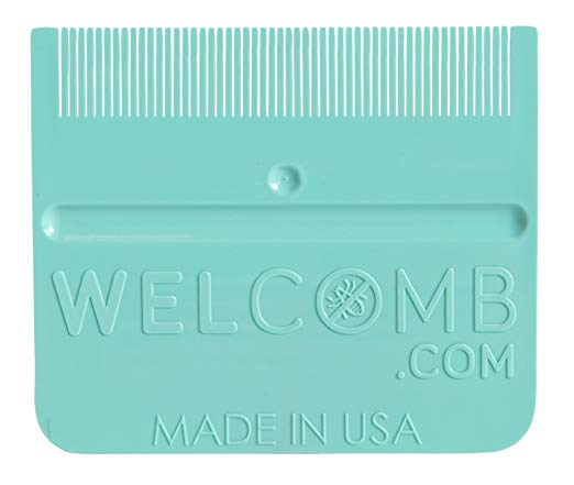 WelComb Lice and Nit Removal Comb
