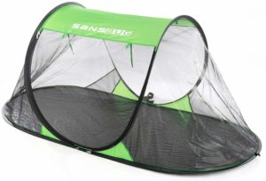 Best Mosquito Net for Camping: SANSBURG Pop-Up Net