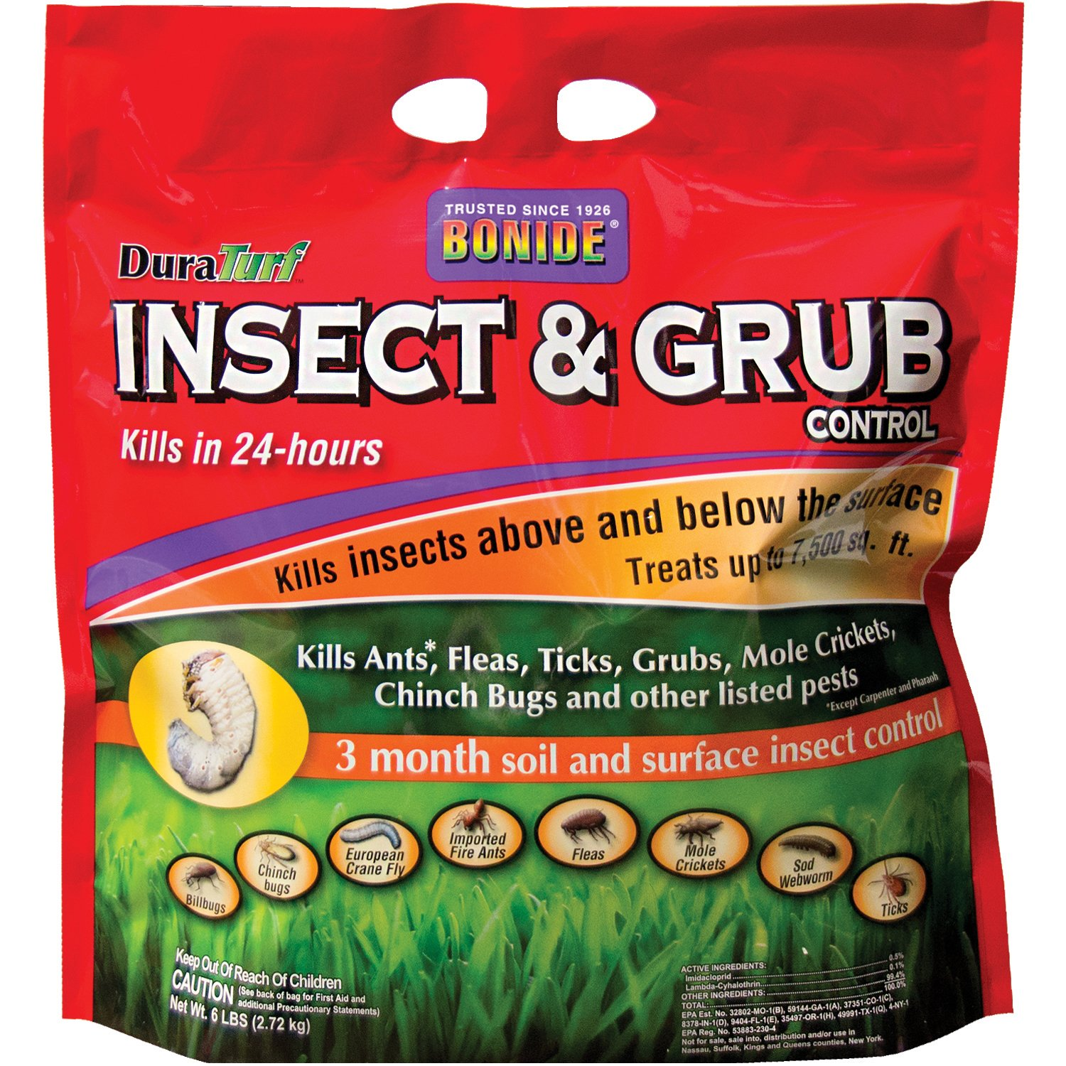 6 Best Insect Killers for Lawn in 2019: Reviews & Comparisons